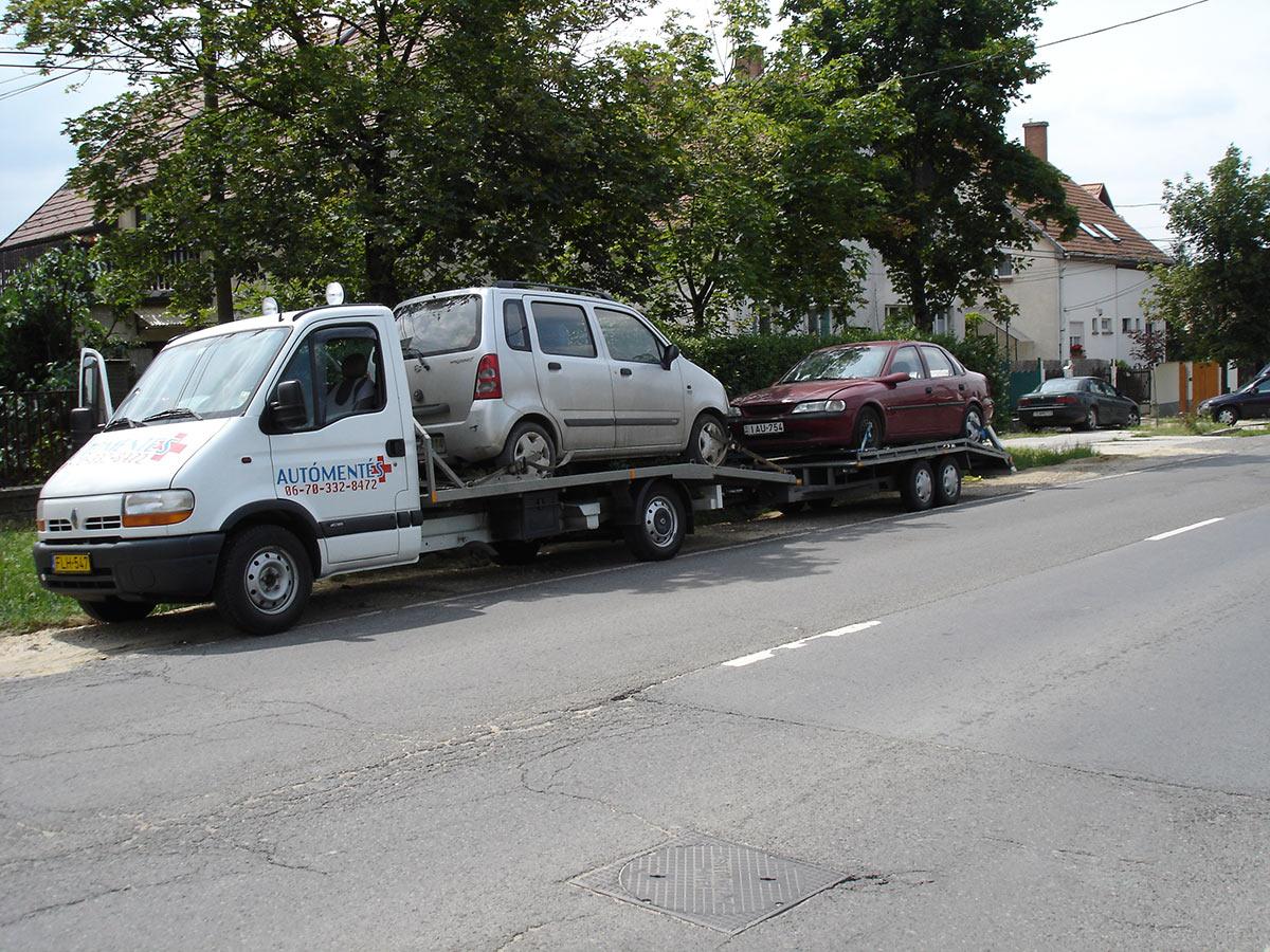 Autószállítás belföldön és külföldön