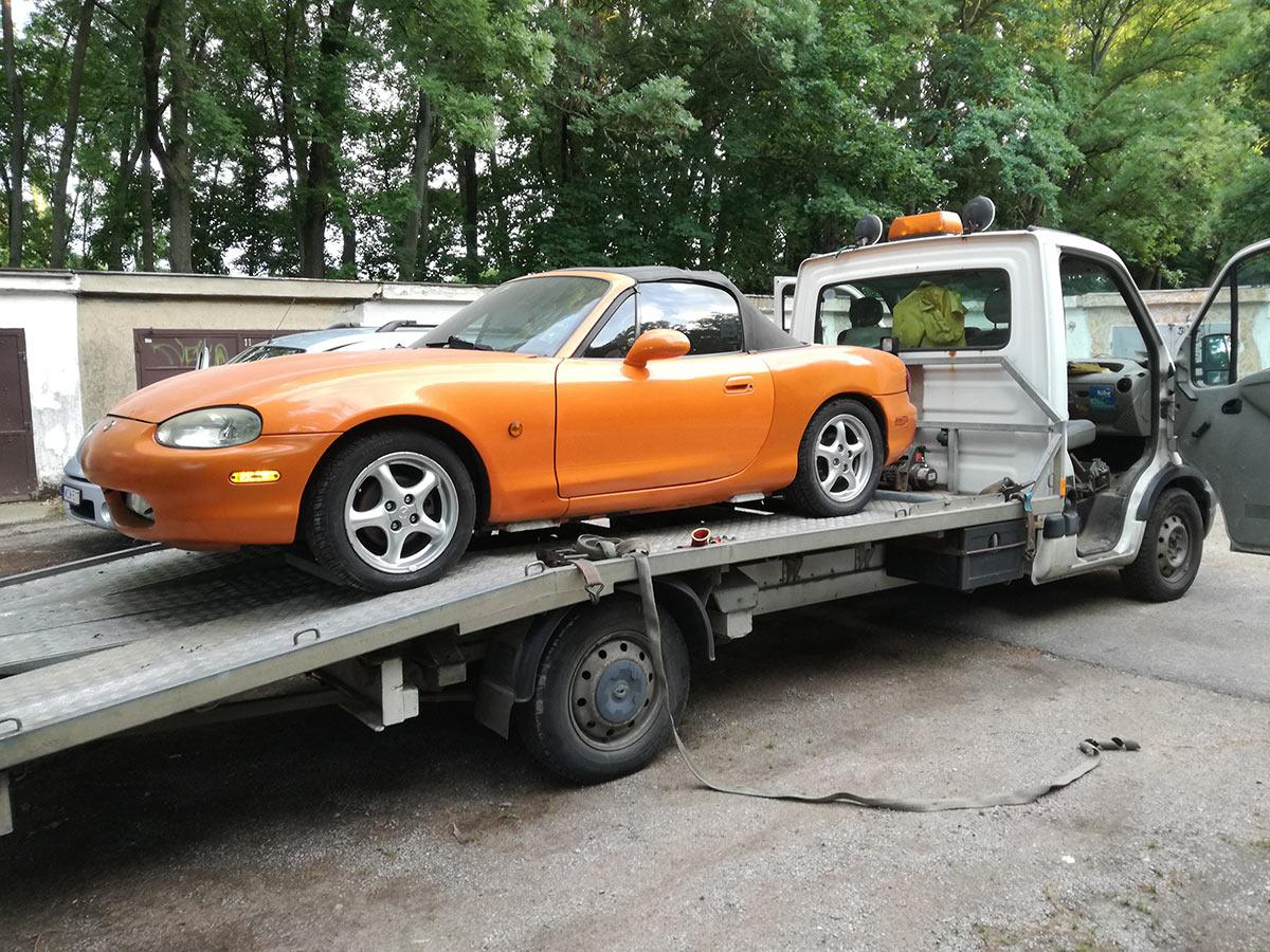 Autószállítás Pécs