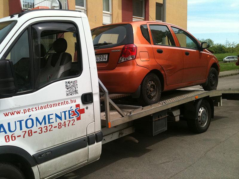 Autómentés és autószállítás Pécs és országosan